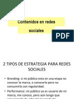 Contenidos de Medición de redes sociales
