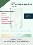 Crux of the Hindu and Pib Vol 14