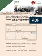 UNQUI_EXTENSIÓN_Entre La Colonización Pedagógica y La Patria Grande