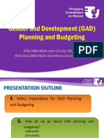 GAD Planning and Budgeting
