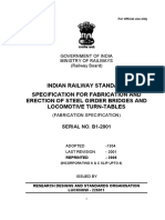 Tech .Specification of Fabrication & Errection of Structural Steel