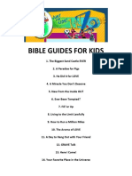 Bible Guides for Kids