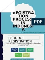 Registration Process in Indonesia