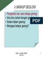 Modul1-Geologi
