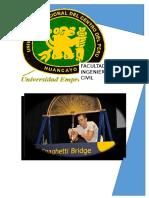 Bases Generales Del Concurso de Puentes de Spaghetti 2016 Fic-uncp