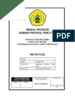 Manual Prosedur Seminar Proposal-MP-TK-02_20 Maret