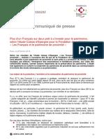 1-CP Sondage Les francais et le patrimoine de proximite.pdf