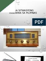 Mga Sitwasyong Pangwika Sa Pilipinas