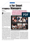 10 Tips for Project Managers
