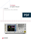 Keysight Signal Analyzer