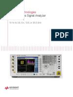 Keysight Signal Analyzer