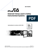 Asco Pilot Valve Operating Manual