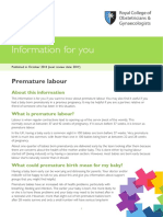 Pi Premature Labour