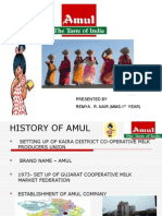 Amul India Presentation of s&n