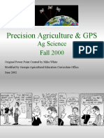 Precision Ag and Global Positioning Satellites Mike White