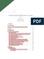 Calculix v2.9 Manual