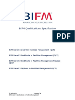 BIFM Level 3 Qualification Specification