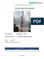 Busunju - Site (3141)- Structural Analysis Report 1 of 2 - Version 1