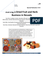 Starting a Driedfruitandherb Bus in Nv