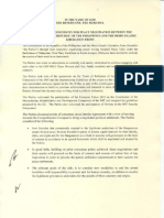 GRP MILF Declaration of Continuity for Peace Negotiation dated June 3, 2010