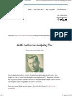Neville Goddard Quotes _ Neville Goddard Power of Awareness