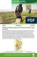Resilience in Chad: Impact evaluation of reinforcing resilience capacity and food security in Bahr el Gazal and Guéra