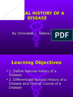 II. NATURAL HISTORY OF A DISEASE.ppt