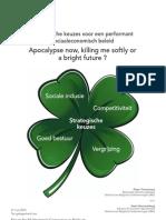 Strategische keuzes voor een performant sociaaleconomisch beleid