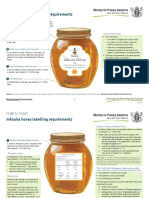 7710073 2014 Guide to Meet Honey Labelling Requirements