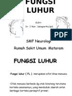 FUNGSI LUHUR