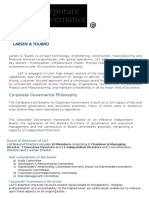 Corporate Governance @ L&T