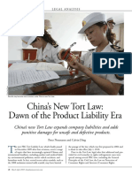 Product Liability China