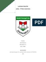 Laporan Titrasi PDF