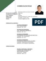 Curriculum-Vitae Kevin Garay