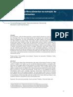Importância da fibra alimentar na nutrição de não ruminantes