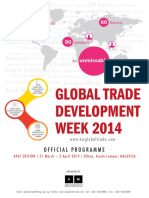 Global Trade Development Week 2014