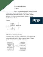 Tipos de Estructura Organizacional