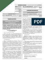 Designan representantes de la PCM ante la Comisión Multisectorial Permanente para coadyuvar con la implementación y puesta en funcionamiento de la Ventanilla Única de Turismo - VUT creada por Decreto Supremo N° 042-2016-PCM