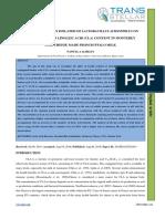 31.IJASR - Effect o Locally Isolated of f Lactobacillus Acidophilus on the Conjugated Linoleic