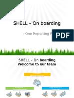 SHELL Onboarding