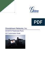 Gxv3275 Gui Customization Guide