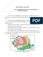 Zona Butimanu-Bilciuresti. Caracterizare Generala