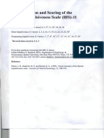 Administration and Scoring of the Barratt Impulsiveness Scale BIS 11