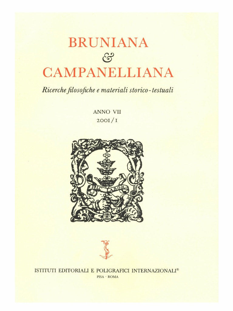 Bruniana   Campanelliana Vol. 7 473955b35d36