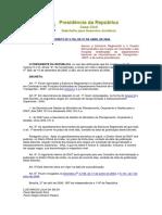 Decreto No 5.765-2006 Estrutura Regimental DNIT
