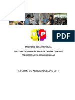 Informe Anual Umse 2011