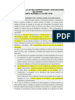 Valorizaciones - Reglamento de La Ley de Contrataciones y Adquisiciones Del Estado
