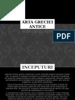 Arta Greciei Antice