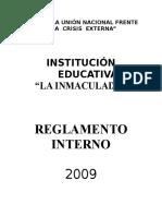REGLAMENTO INTERNO  2009-IELI.doc