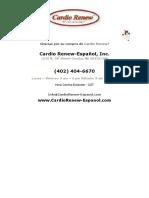 Cardio Renew Brochure Espanol